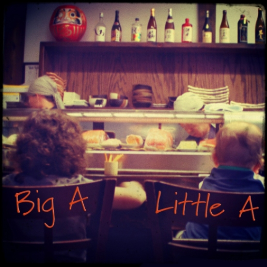 Big A and Little A