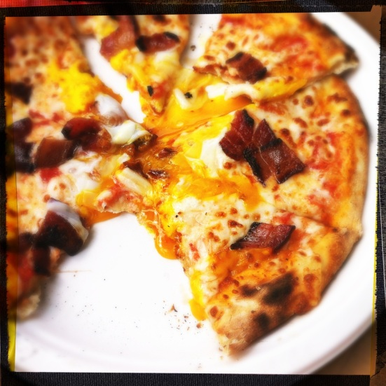S&J Breakfast Pizza