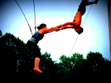 Athens Road Trip: Leap Flying Trapeze School, Five Star Day Cafe, Cali N Tito's & King of Pops