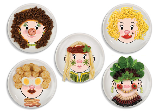 Fred & Friends Food Plates