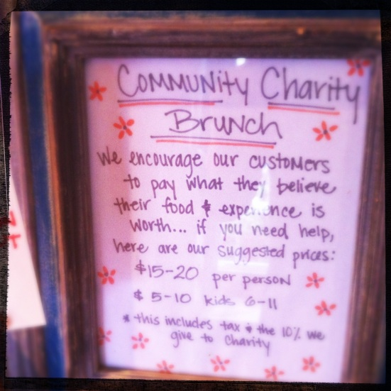 Community Charity Brunch