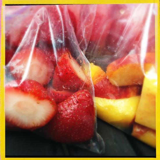 Bagging Fruit